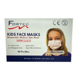 Kids Medical 3ply Face Mask ASTM Level-2 Made in Canada