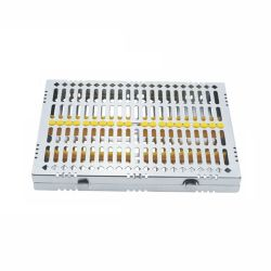 20 pc Hinged Instrument Cassette Tray