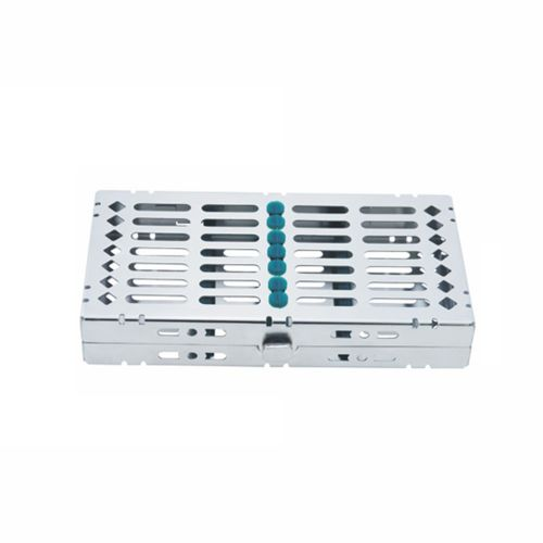 7 pc Hinged Instrument Cassette Tray