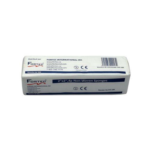 "Cotton Gauze Non-Woven 30GSM 2"" x 2"" 4 Ply (5000 PCS/CASE )"
