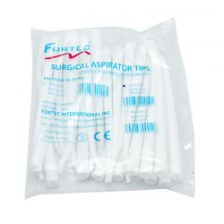 "Surgical Aspirator Tip 1/8"" 25 PCS / BAG"