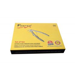 Extraction Forceps For Children Set of 7pcs