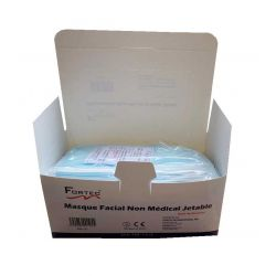 Disposable Face Mask Non-Medical,Non-woven 3 Ply Ear-Loop 50 Pcs /Box