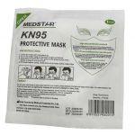 Disposable Non Medical KN95 Folding Face Mask 10pcs /Pack
