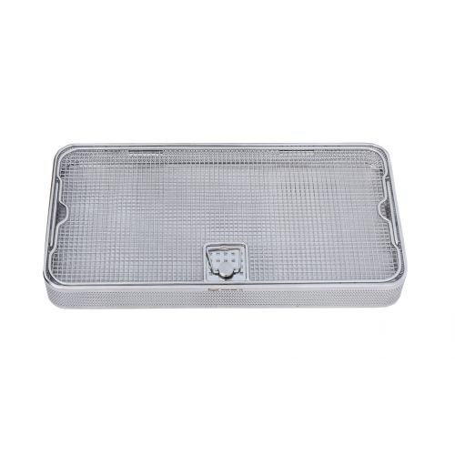 Mesh Perforated Tray with LID 480mm x 250mm x 50mm