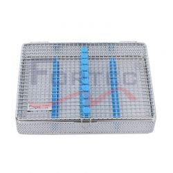 10 pc Instrument Mesh Cassette Tray 195mm x 140mm x 32mm