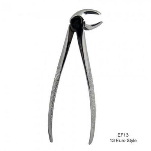 13 Euro Style Forceps (Serrated) Lower Molars