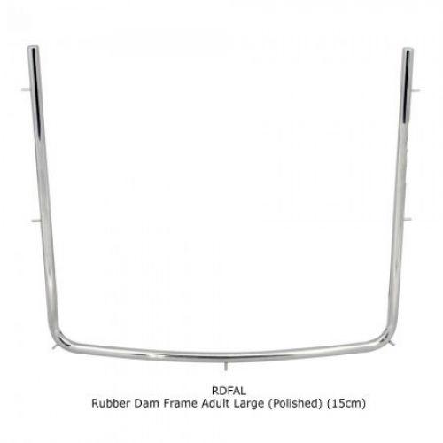 Rubber Dam Frame Adult Large (Polished) (15cm)
