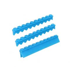 10 pc Instrument Cassette Silicone 3 pkg (1 Compression & 2 Instrument Rails)