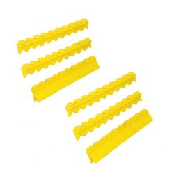 20 pc Instrument Cassette Silicone 6 pkg (2 Compression & 4 Instrument Rails)