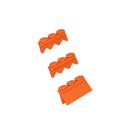 3 pc Instrument Cassette Silicone 3 pkg (1 Compression & 2 Instrument Rails)